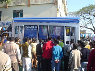 The Nokia van