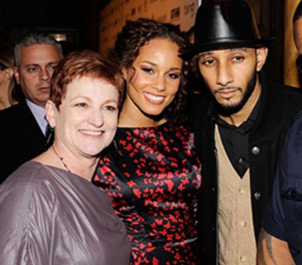 Platinum Pass Alicia Keys Her Mom Her Fiance Swizz Beatz