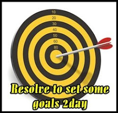 resolve to set some goals today