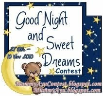 Good Night and Sweet Dreams Contest
