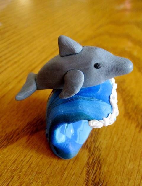 Creator U0026 39 S Joy  Polymer Clay  Fimo Or Sculpey  Dolphins