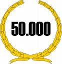 50000 visitas no blog