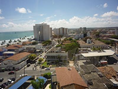 vista da cidade de Maceio