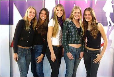 Finalistas Gaúchas do Menina Fantástica 2009