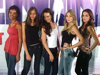 Menina Fantástica 2009. Finalistas em Brasília.