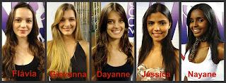 Menina Fantástica 2009. Finalistas de Minas Gerais.