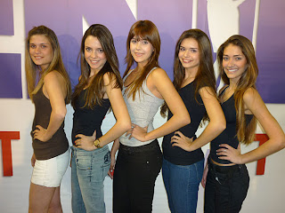 Menina Fantástica 2010. Ganhadoras de Belo Horizonte