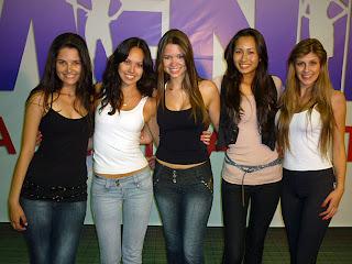Menina Fantástica 2010. Eleitas em São Paulo.