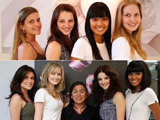 Menina Fantástica 2010. Quatro finalistas ganham novo visual.