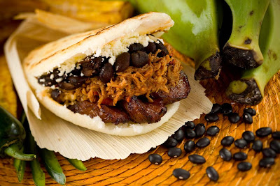 De Pabellon: Shredded beef, black beans, sweet plantains, and aged ...