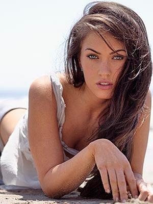 Megan Fox, the new face for Emporio Armani's underwear line.
