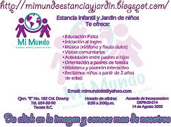 ESTANCIA INFANTIL Y JARDIN DE NIÑOS