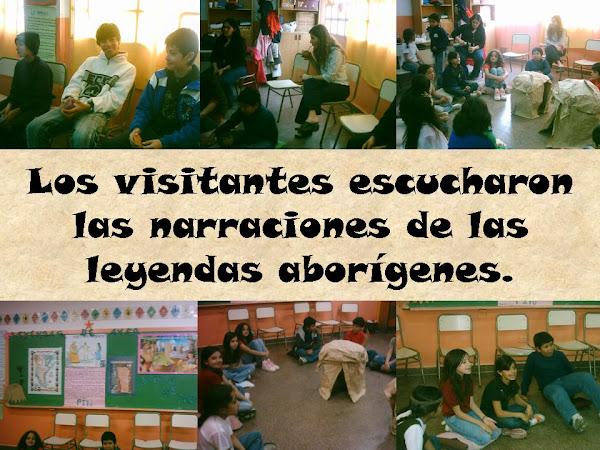 LOS CHICOS SE LUCIERON COMO NARRADORES