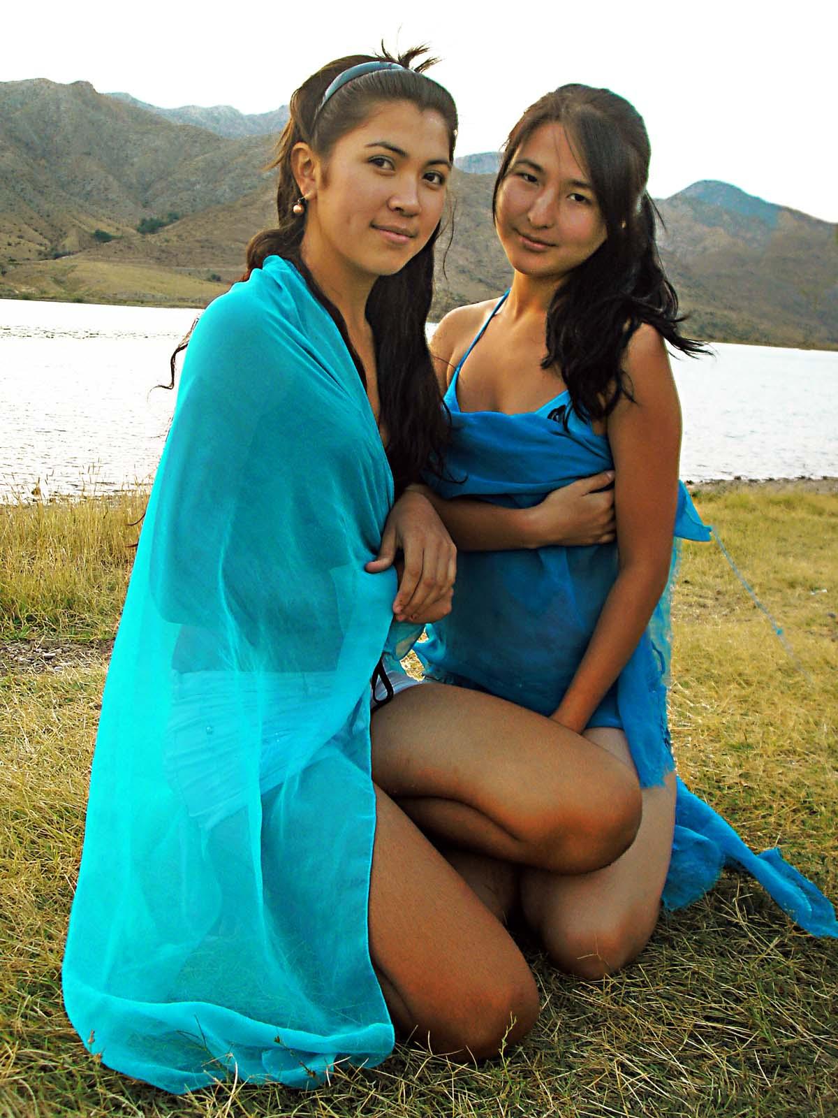 Фото девушек киргизок 9 фотография