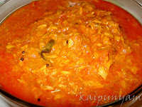 Tuna(Tin Fish) Curry