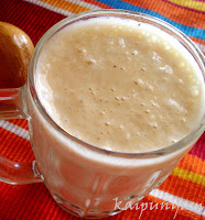 Chickoo Milk Shake