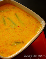 Cheerathandu (Spinach stem) Moru Curry
