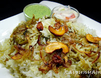 Chicken Biriyani... Wish you all a wonderful New Year....!!  Read more: http://kaipunyam.blogspot.com/2010/12/chicken-biriyani-wish-you-all-wonderful.html#ixzz1Jh1tgZlH