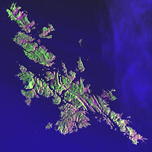 shetland from space