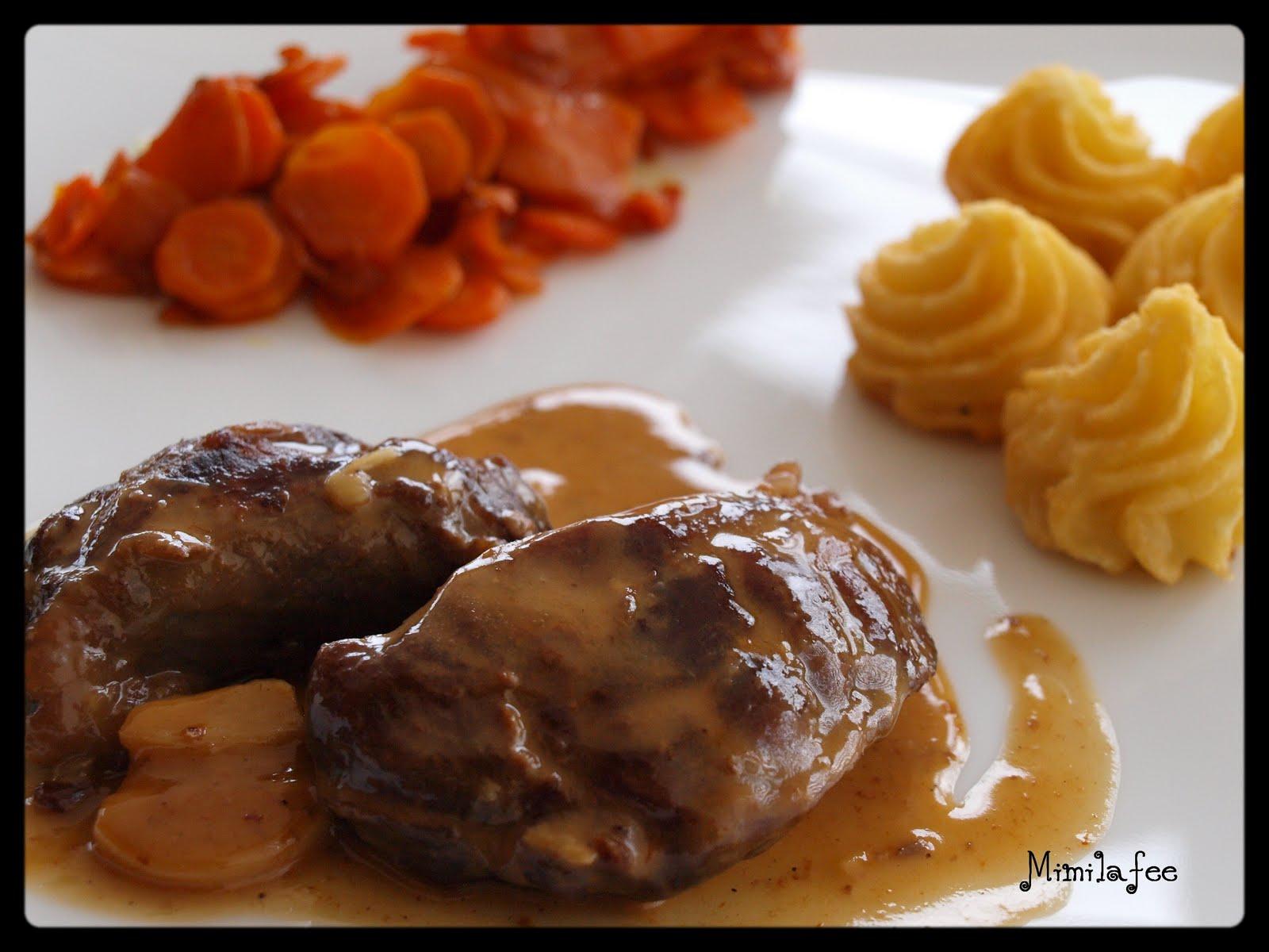 Mimilaf e avec amour joue de porc au cidre cr me d ail et pommes fondantes - Joue de porc cocotte minute ...