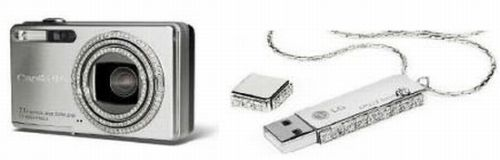 dalumi-diamond.jpg (image) :  luxury diamond camera diamonds flash drive dalumi ricoh caplio r5
