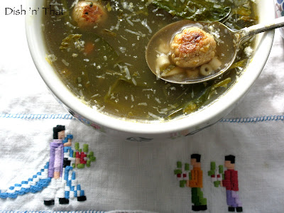 Vegetarian Italian Wedding Soup