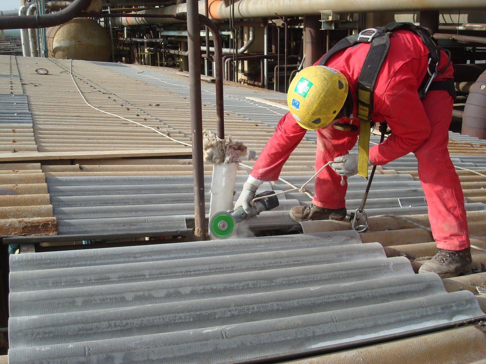 Massilia acro remplacement de t les sur toiture - Reglementation demontage toiture fibro ciment ...