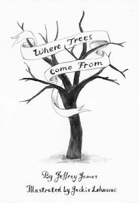 Cover for Where Trees Come From illustrated storybook