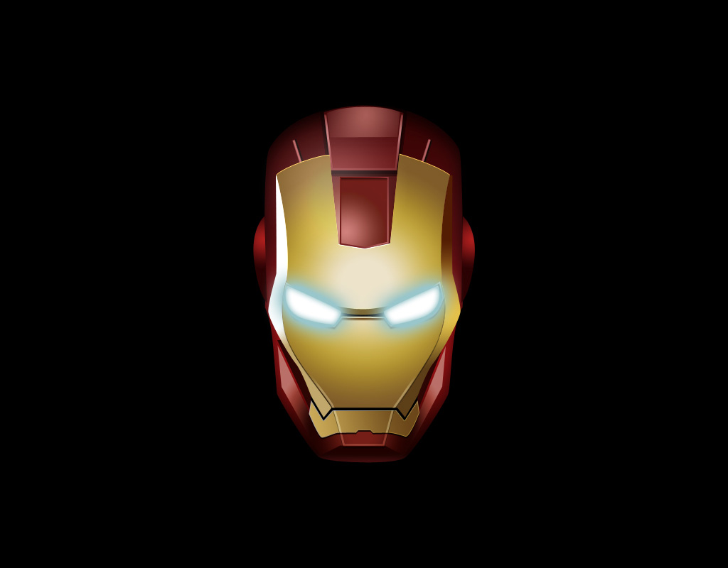 Haltungbewahren The Mask Of Iron Man Wallpaper