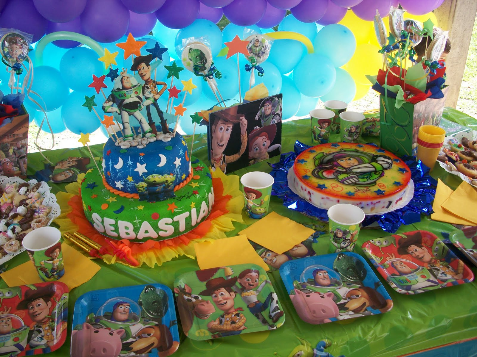 Decoracion Cumpleanos Toy Story 3