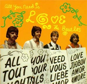 The Beatles All You Need Is Love Letra Traducida
