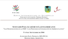 La cuestion fluvial y los compromisos en la OMC