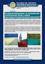 EL DERECHO INTERNACIONAL Y LA CONTAMINACION FLUVIAL Y COSTERA