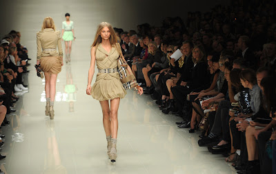 Burberry Prorsum, Spring Summer, 2010, Runway show, London, London Fashion Week, English Fashion, luxury