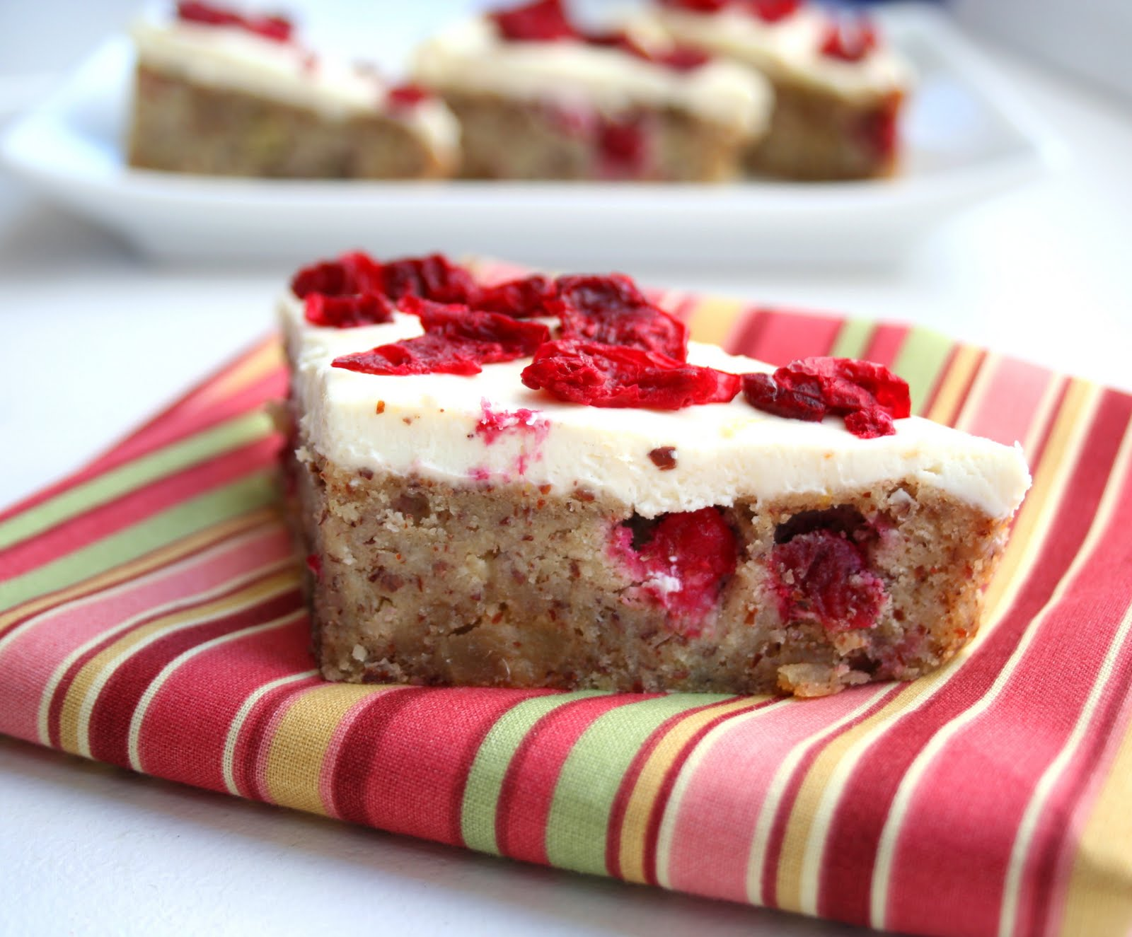 Cranberry Bliss Bars (Low Carb and Gluten Free) | All Day ...