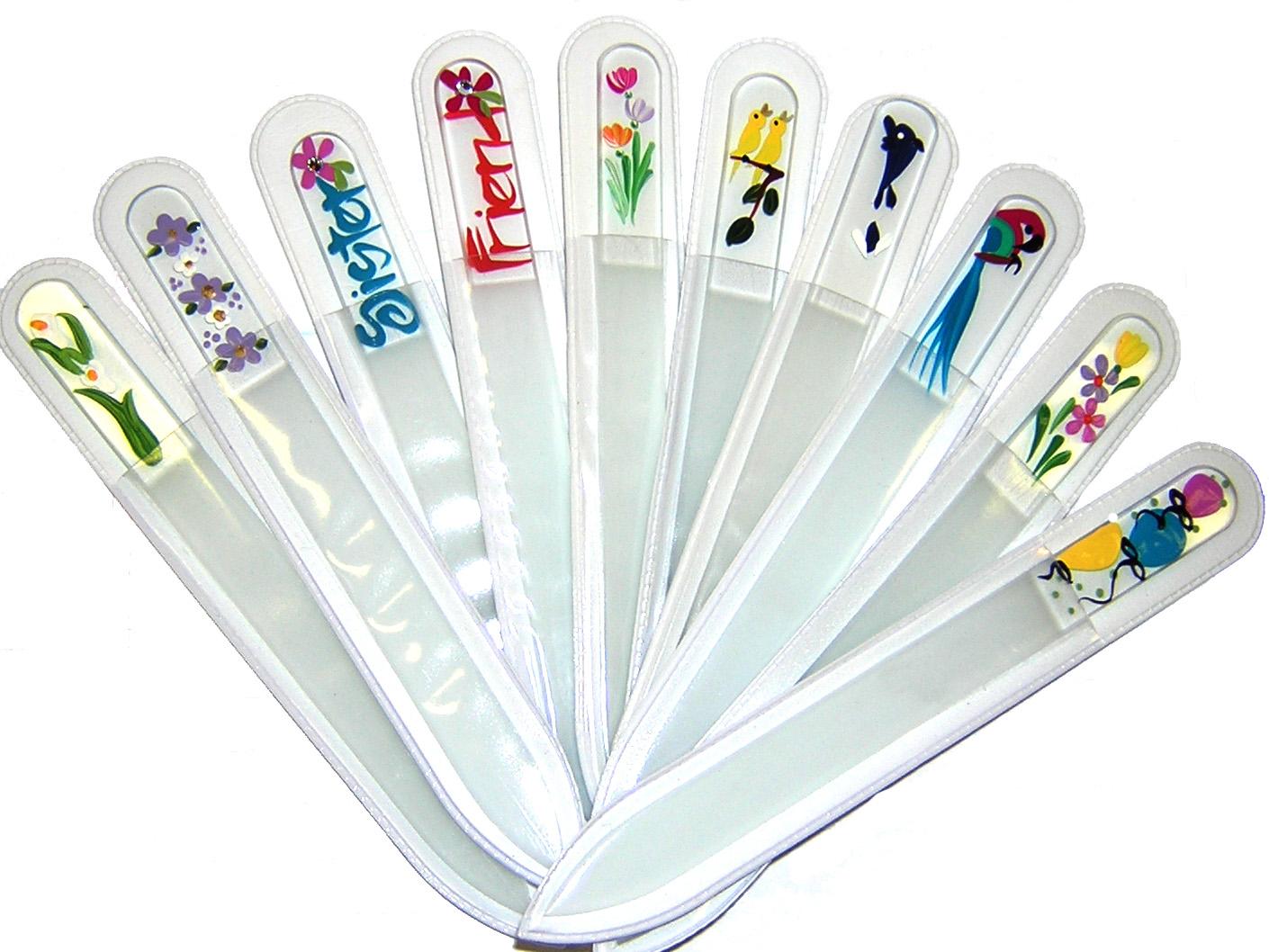 Vilcis nail designs: Limas de uñas