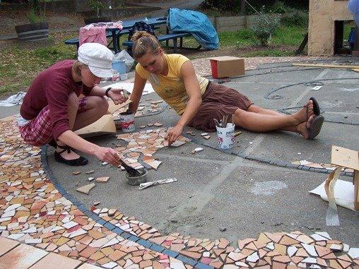 Mosaic Work, Spring 2008