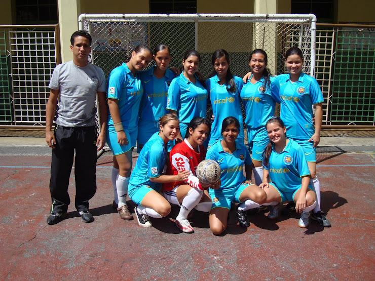 1er Equipo de Futbol Sala Femenino del CUFM