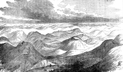 [Warren expedition sketch of sandhills]