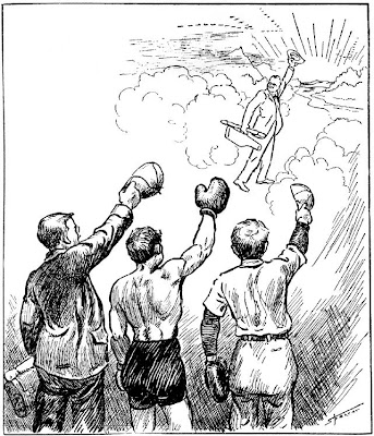 [newspaper image as farewell to Sandy Griswold]