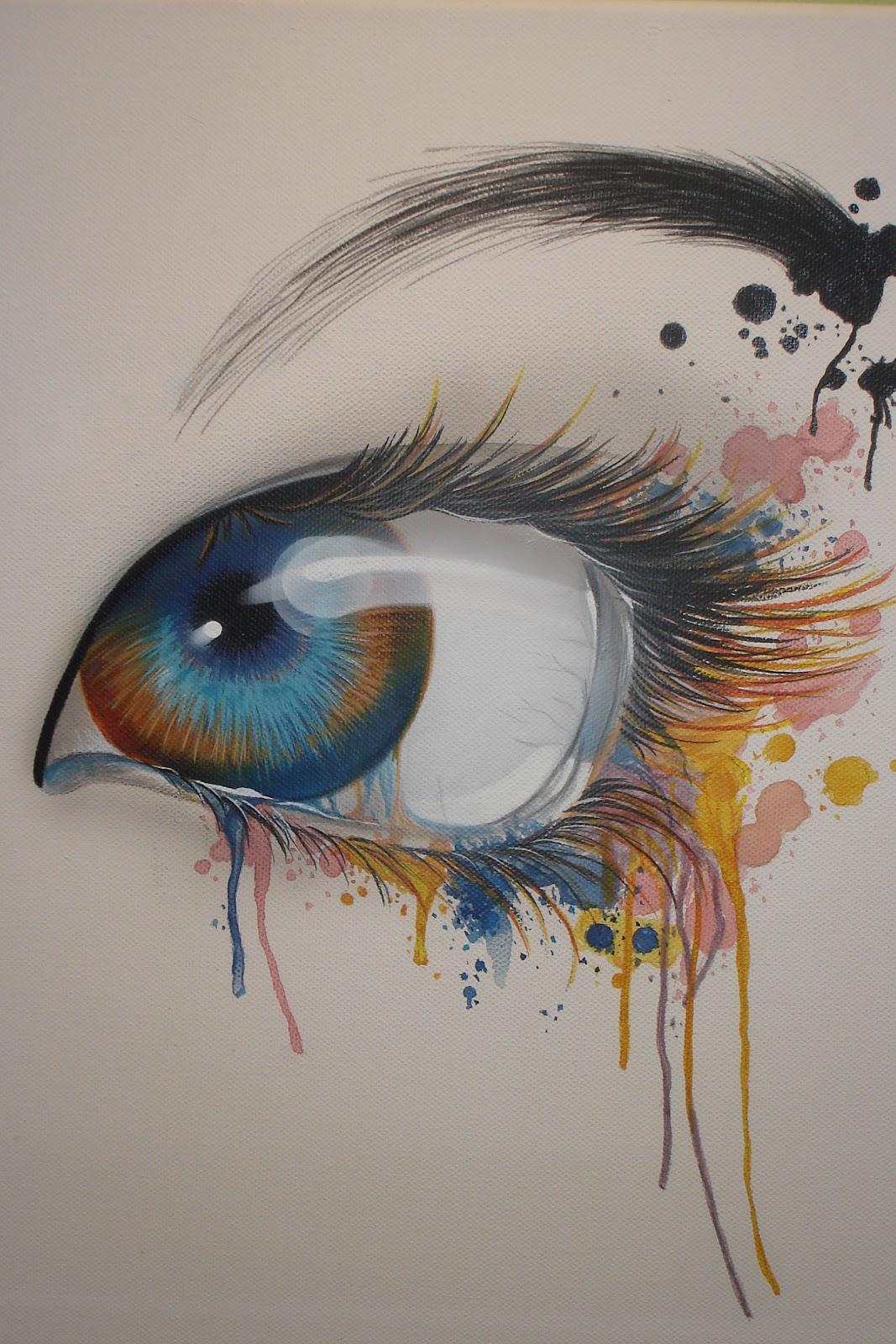Aerografia y decoraci n 1 01 11 1 02 11 for Cool watercolor tricks
