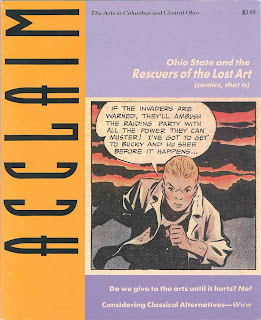 Acclaim: The Arts in Columbus and Central Ohio spring 1989