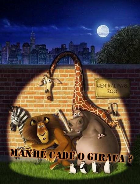 Manhê CadÊ o Girafa?
