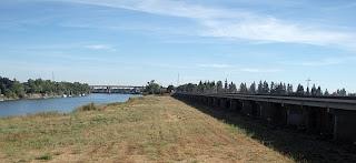 Sacramento River and Sacramento Weir