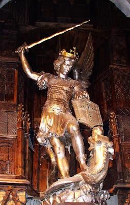 inegável ação de presença do general em chefe das milícias celestes, o Arcanjo São Miguel