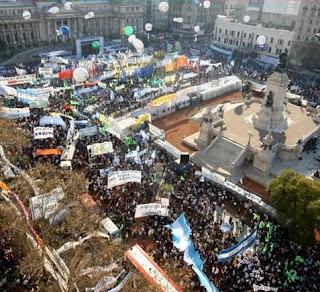 Ato governista contra os proprietarios agricolas. Buenos Aires