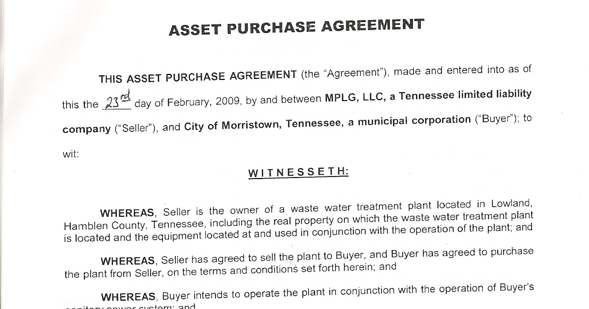 NoeAccountability November   The Lowland Asset Purchase