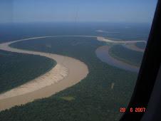 Imagem Aérea do Rio Juruá