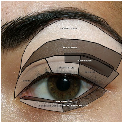 How To Apply Dark Eye Makeup, eye makeup tips pictures : dark brown eyes eye