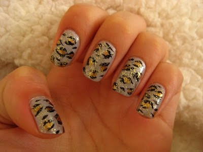 nails4 wonderful polish superb design pink shade perfect look French manicure decoration of nails colorful nails Animal prints nail art design animal print